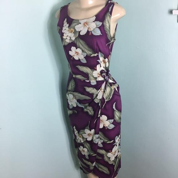be21f54dab551 Vintage Dresses   Iolani Rayon Hawaiian Sarong Dress   Poshmark